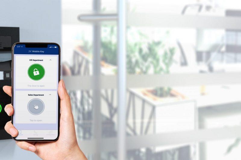 2N WaveKey: contrôle d'accès via smartphone