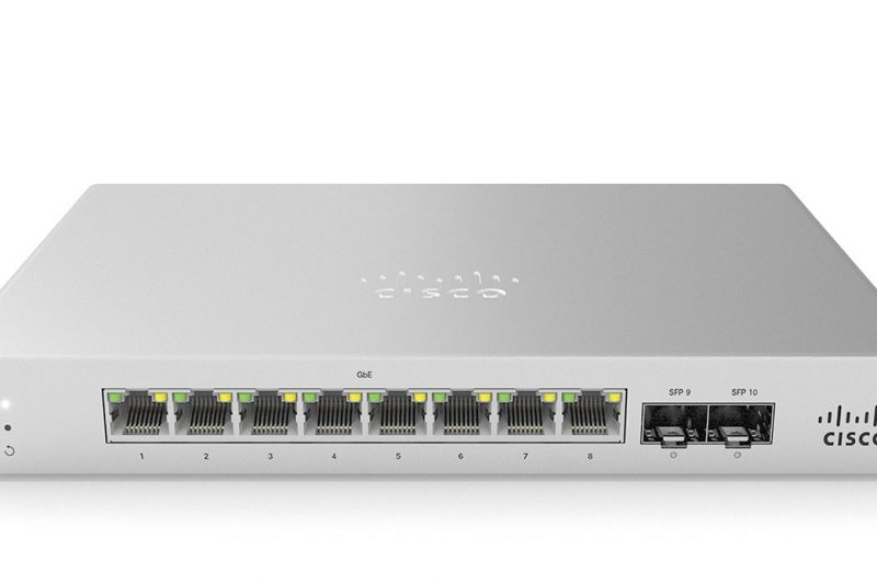Nouvelle gamme de switches : Cisco Meraki MS120