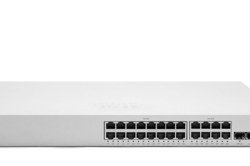 Cisco Meraki lance son switch multi gigabit MS350-24X
