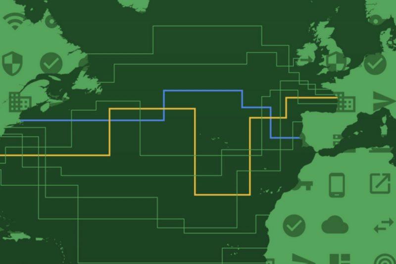 Google s'offre son câble trans-atlantique privé