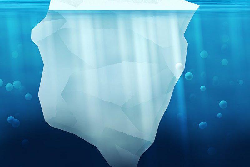 """L'Iceberg du """"On-Premises"""" vs celui du Cloud: où sont les coûts?"""
