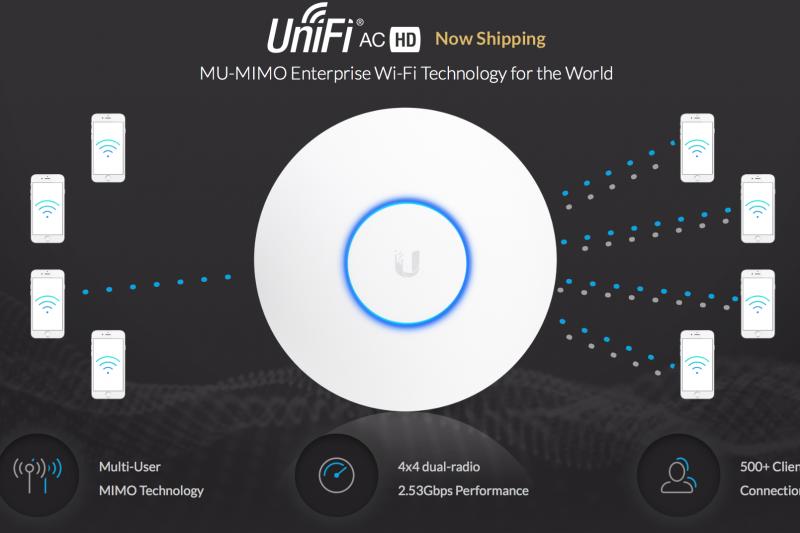 Ubiquiti lance sa borne UniFi UAP-AC-HD : le Wave 2 abordable