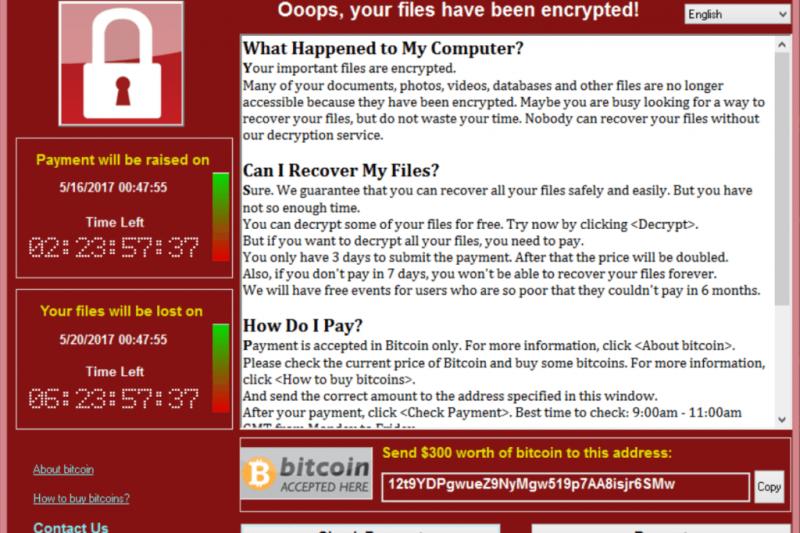 Ransomware WannaCry : patches pour Windows et ce qu'il faut savoir